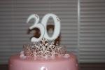 30 cake topper